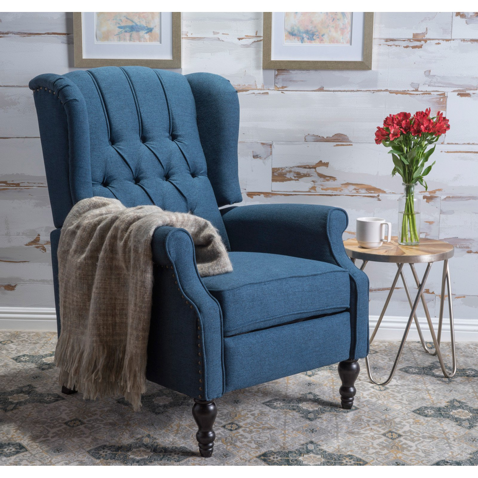 LLC Sharpsville Fabric Recliner