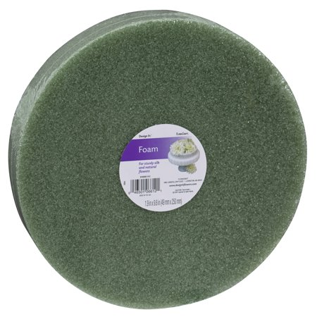 FloraCraft Design It Green Foam Disc, 1 Each