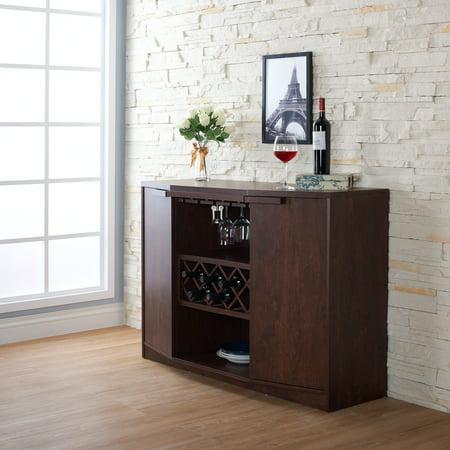 Furniture Of America Chapline Contemporary Wine Bar Buffet By FOA