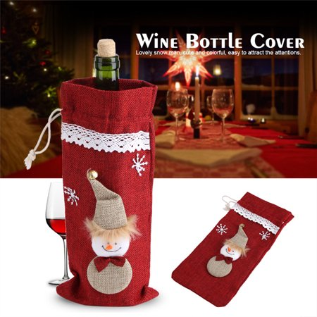 Wine Bottle Cover Bags for Champagne,Wine,Beer,Bottles,Beverages,Containers,Soft Drinks,Sodas,Dinner Party Gift Bags Christmas Decorations Red - Walmart.com