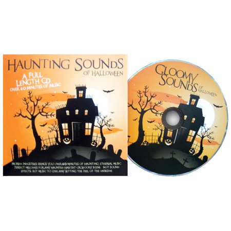 Haunting Sounds CD Adult Decoration](Scary Sounds Of Halloween Mp3)