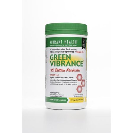 Green vibrant review