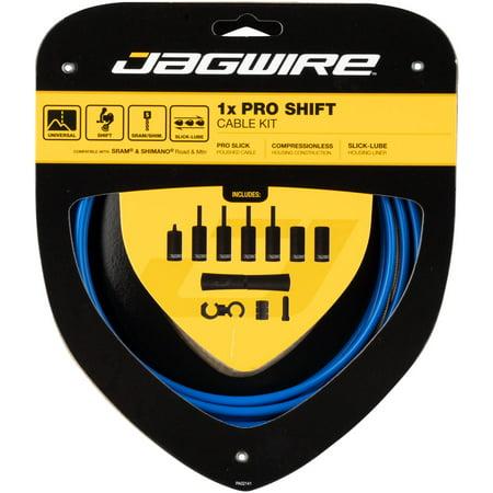 Jagwire 1x Pro Shift Kit Road/Mountain SID Blue Pro 5.0 Shifter