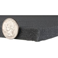 "Sonic Barrier 1/2"" Acoustic Sound Damping Foam with PSA 18"" x 24"""