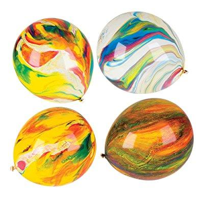 Biodegradable Helium Quality Latex 11 Marble Balloon (Pac...