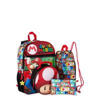 Deals on Super Mario 5 Piece Backpack Set