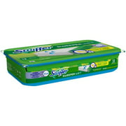 Swiffer Sweeper Wet Mopping Pad Refills with Febreze Lavender Vanilla & Comfort Scent, 12 count