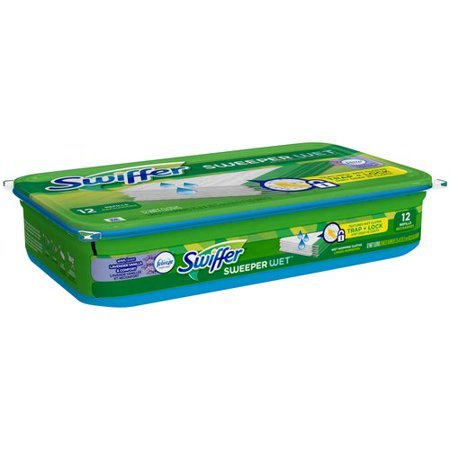 Swiffer Sweeper Wet Mopping Pad Refills With Febreze
