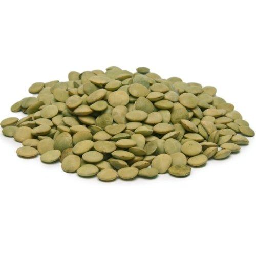 Bulk Peas and Beans Organic Lentils Green - 25 Lb.