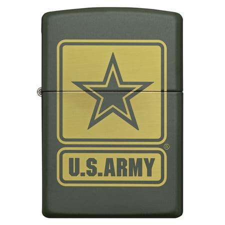 ZIPPO ARMY GREEN MATTE (Armor Zippo Lighter)
