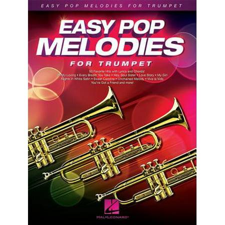 Melodies Trumpet - Easy Pop Melodies for Trumpet - eBook