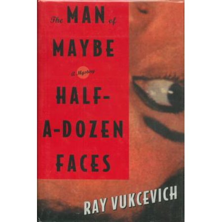 The Man of Maybe Half-a-Dozen Faces - eBook](Half Face Halloween Tutorial)