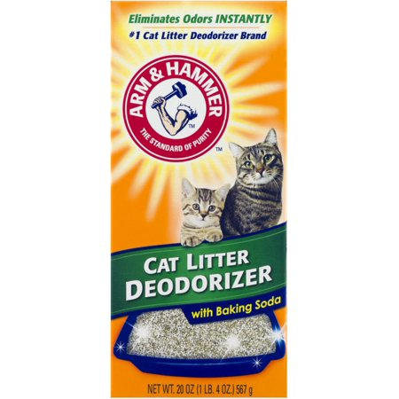 Arm & Hammer w/Baking Soda Cat Litter Deodorizer, 20 oz