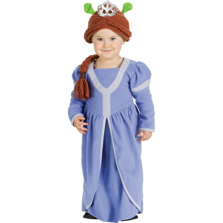 Princess Fiona Shrek The Third Baby Costume Newborn 0-9 (Princess Baby Costume)