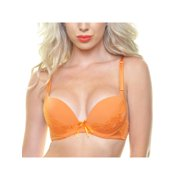 Angelina Checkered Floral Jacquard Accented Convertible Bras (6-Pack)