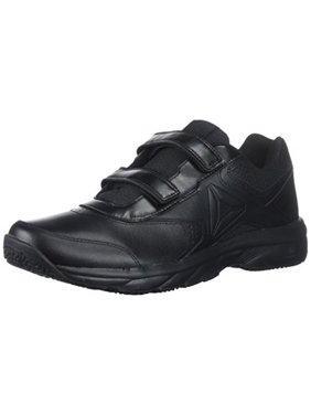 Reebok Mens Work N Cushion 3.0 KC Walking Shoe, Adult, Black/Black