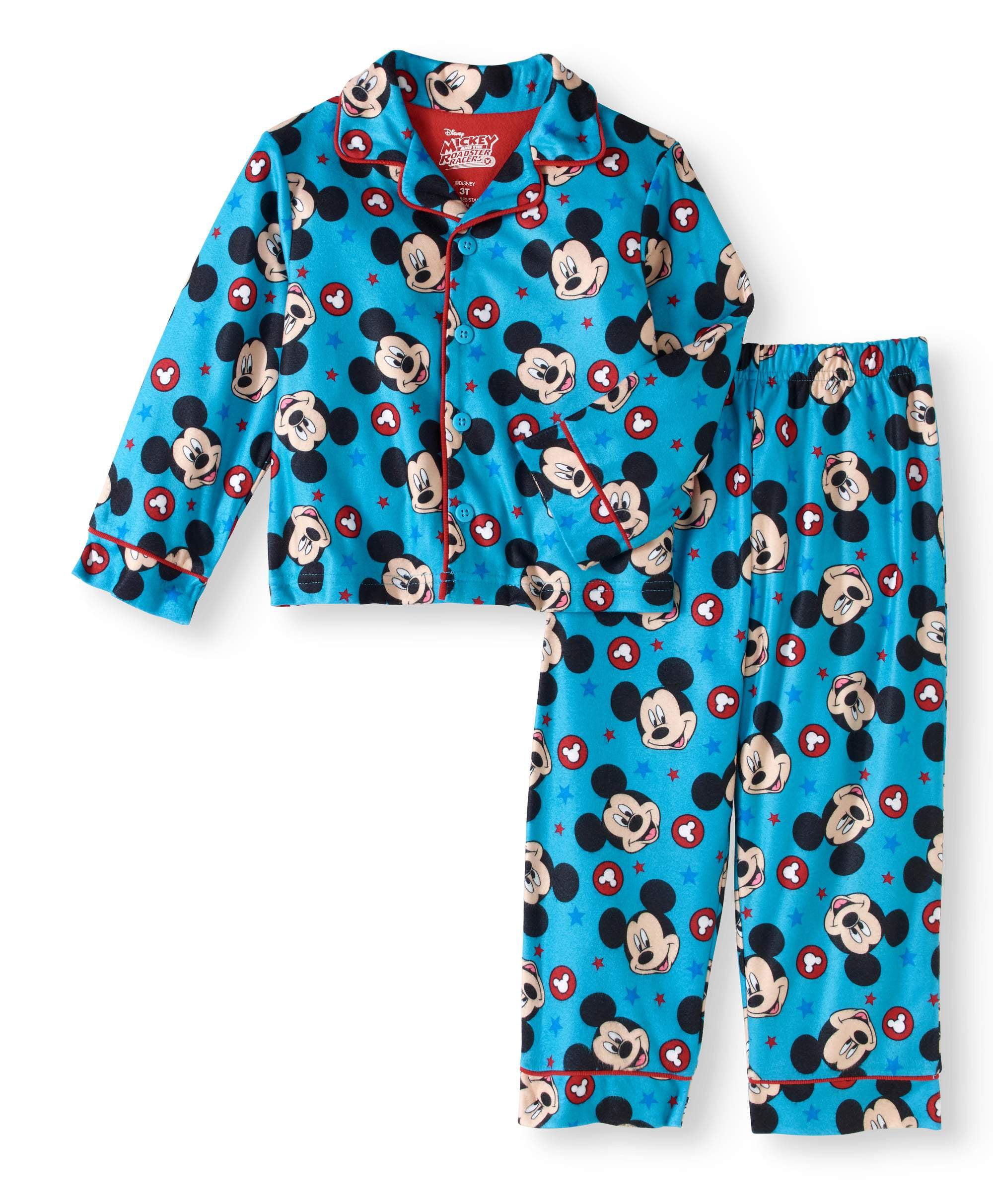 Toddler Boy Button Down Pajama Set