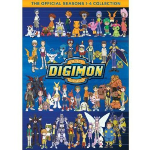 Digimon: Digital Monsters - The Official Seasons 1-4 Collection