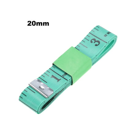 1500mm Color Soft Inch Tape Measure Sewing Tapes Measuring Tape Green