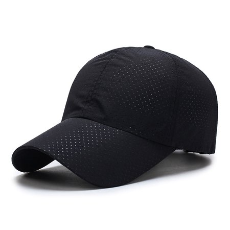 Men Women Summer Quick Dry Breathable Mesh Baseball Cap Running Golf Sports Sun Hat