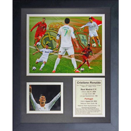 Legends Never Die Cristiano Ronaldo Collage Photo Frame  11  X 14