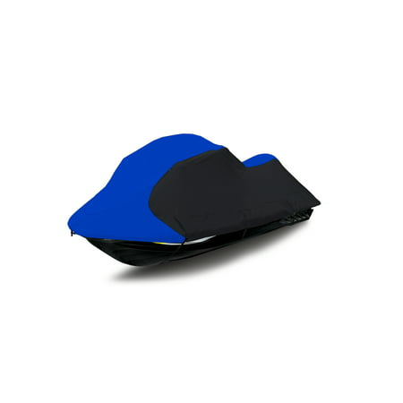 "Jetpro Blue/Black Jetski Cover Polaris Sea Doo Yamaha Kawasaki PWC Jet Ski Cover Fits from 136""-145"""