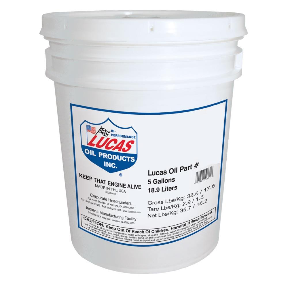 Lucas Oil 10796 Gear Oil - 75W140 - 5 Gallons