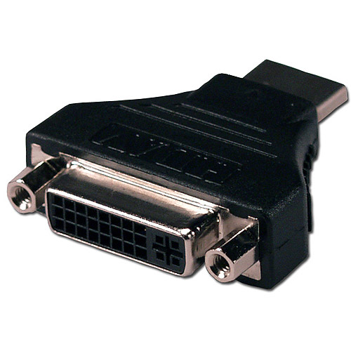 QVS HDVI-MF HDMI Male to DVI Female High Speed Adapter