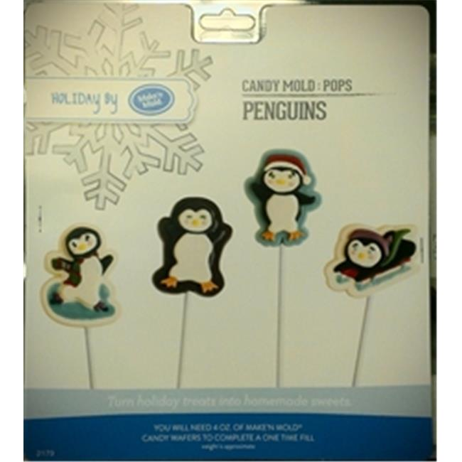 Make N Mold 2179 Penguin Pop Mold- pack of 6