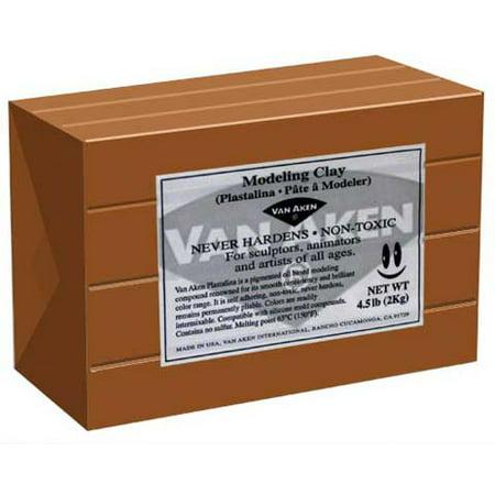 Van Aken Modeling Clay, 4.5 lbs., Terra-Cotta ()