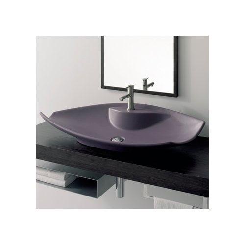 Scarabeo By Nameeks Kong Ceramic Specialty Vessel Bathroom Sink Walmart Com Walmart Com