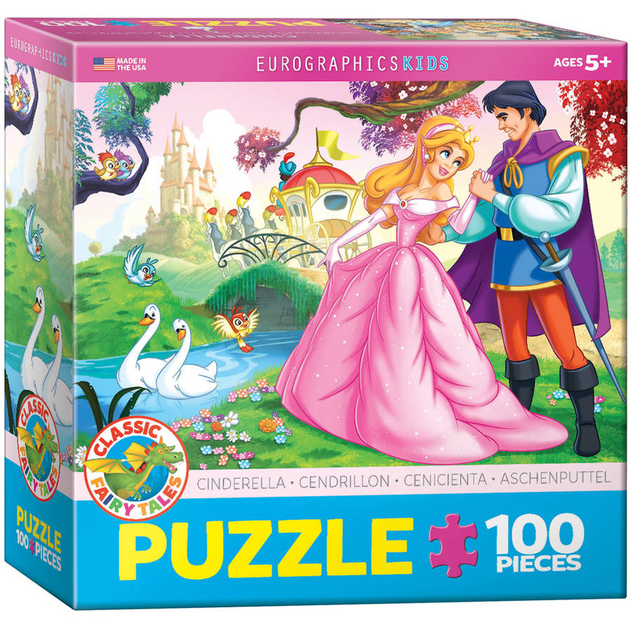 EuroGraphics Cinderella 100-Piece Puzzle