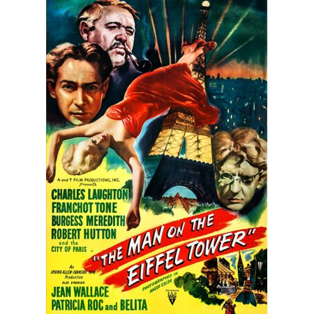 The Man on the Eiffel Tower (DVD)