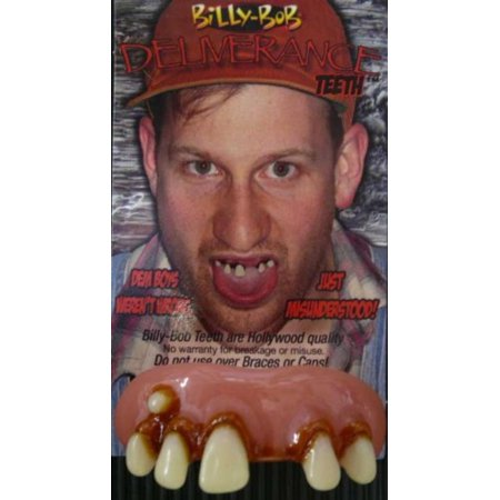 Billy-Bob 10031 Deliverance Fake Teeth Novelty Item, EA/clam shell card By BillyBob](Novelties Items)