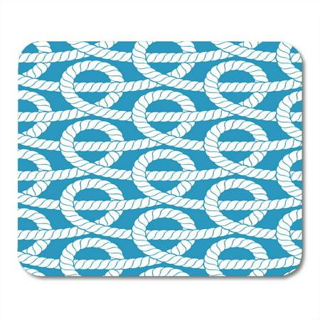 Knit Rose Pattern - SIDONKU Pattern Ropes Knot Ornate Twisted Old Endless Mousepad Mouse Pad Mouse Mat 9x10 inch