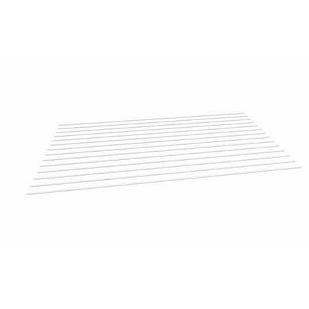 12 x 24 Pergola Vinyl Shade Kit, White