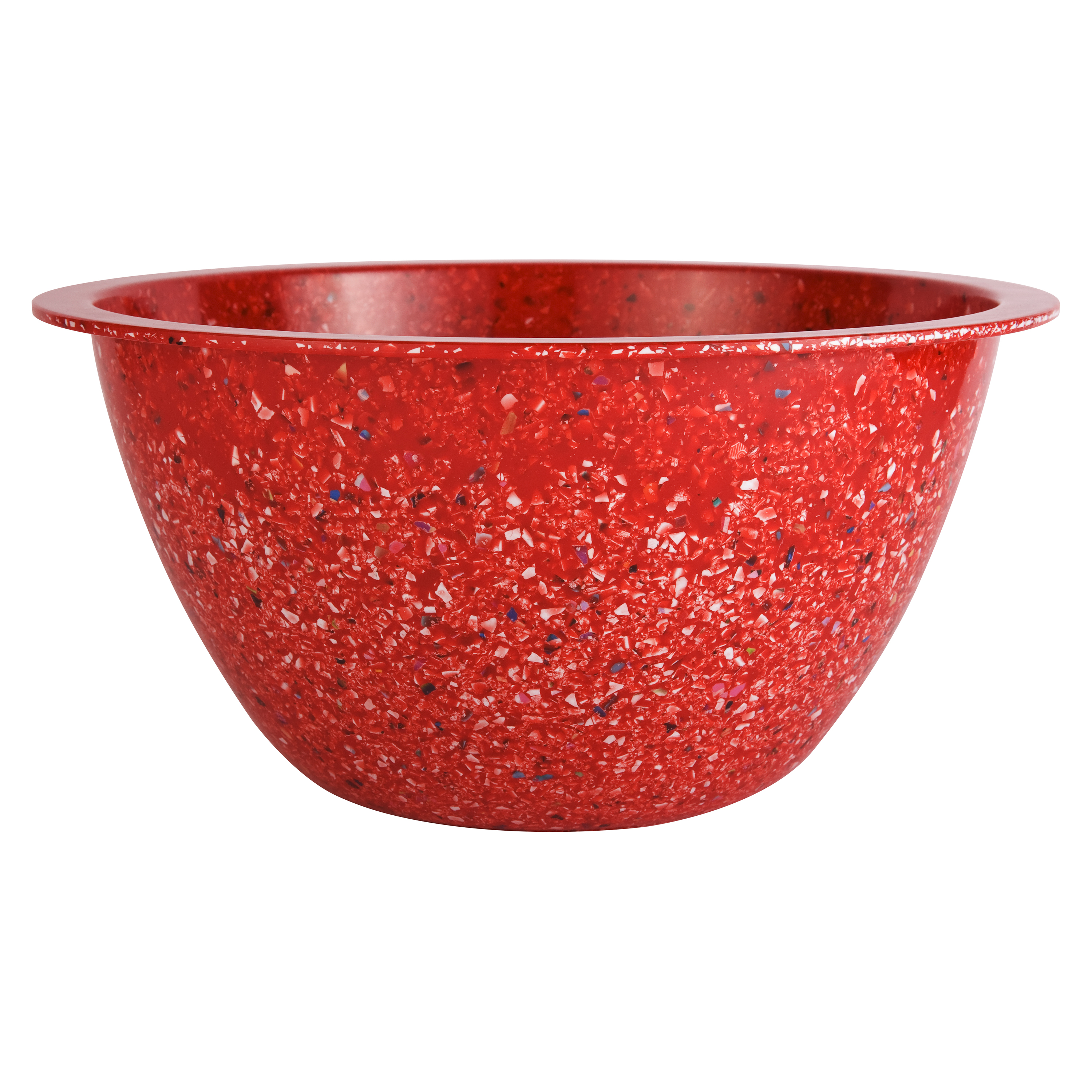 Zak DesignsConfetti Extra Large Mixing Bowl - Red