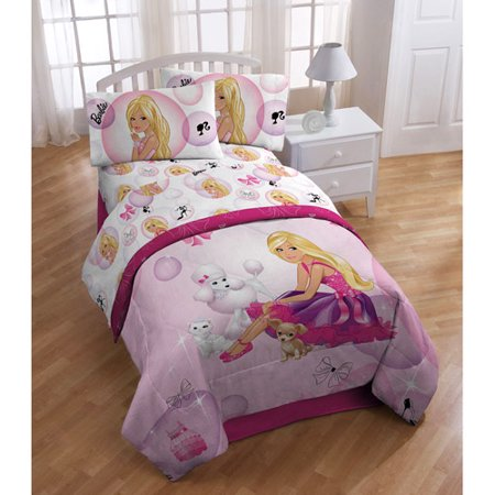 Barbie Twin Sheet Walmart Com