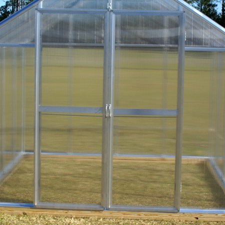 Riverstone Industries Monticello Hinged Greenhouse Doors (Polycarbonate Greenhouse)