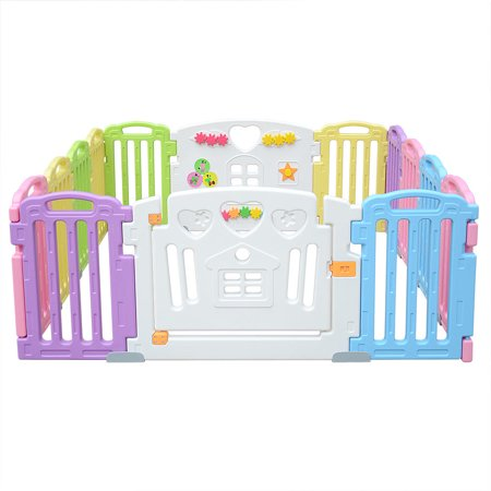 LIVINGbasics™ Baby Playpen Kids Play Yard 14 Panel Activity Centre for Home/Indoor/ Outdoor - image 3 of 8