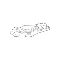Genuine OE GM Lower Control Arm 22947075