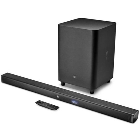 JBL Bar 3.1 - 3.1 Channel Soundbar with 4K Ultra HD, Bluetooth & Wireless Suboofer