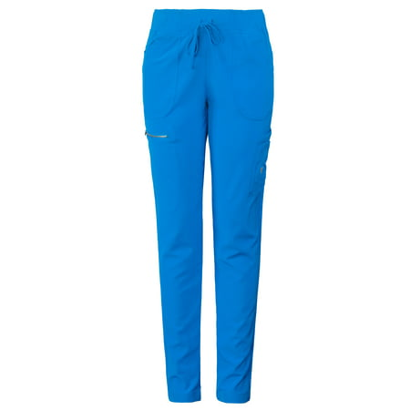 Women's Stretch MG SuperFlex Athletic Tapered Leg Jogger Scrub (Best Scrubs For Athletic Build)