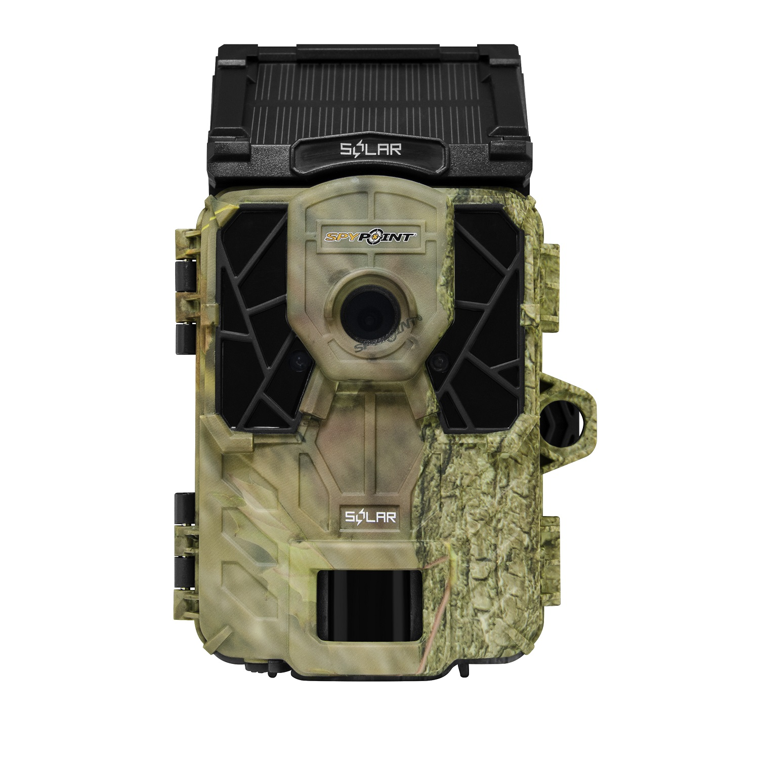 "Spypoint Solar-Powered 12MP Trail Security Game Camera Low Glow w/ 2"" LCD Viewer - SOLAR"