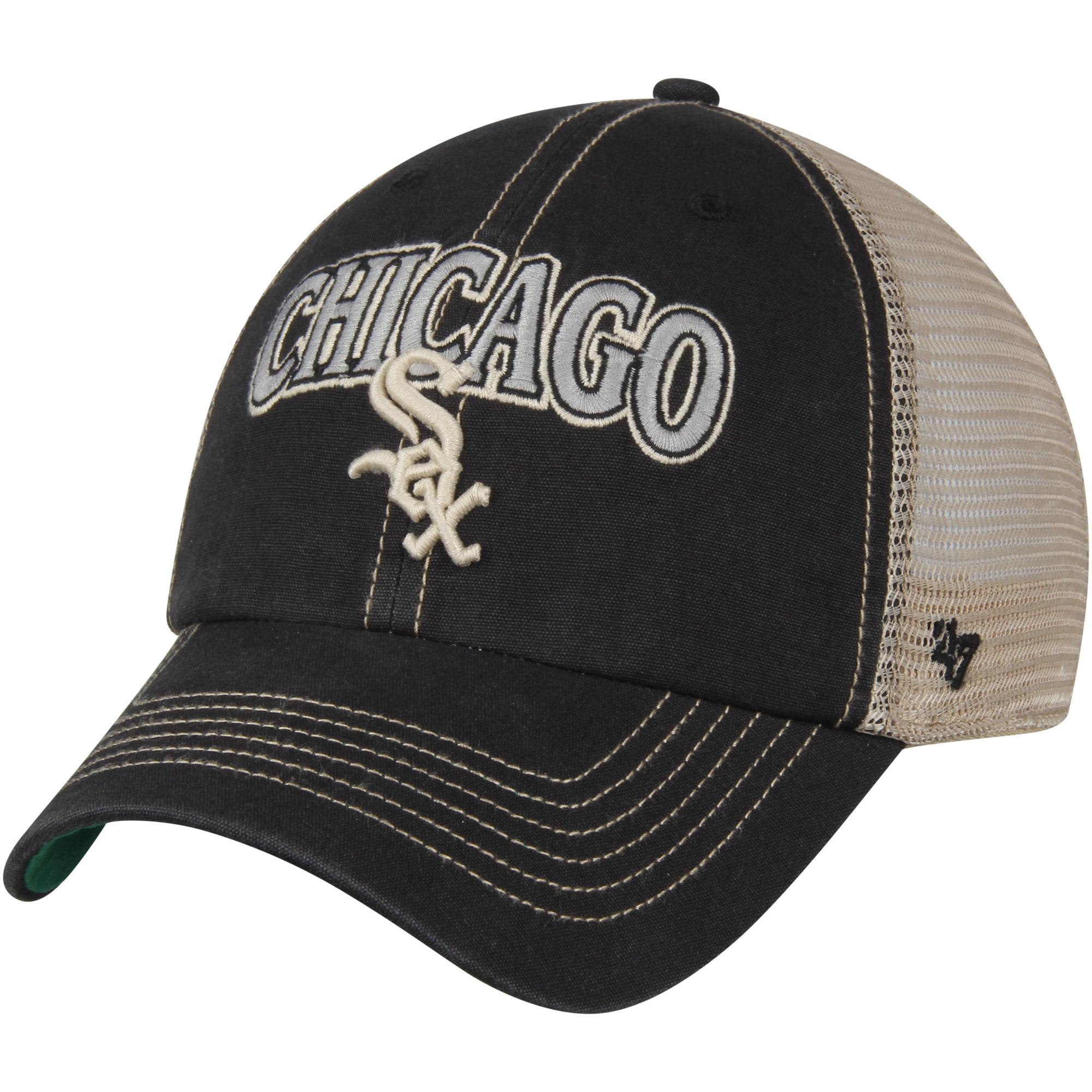 Chicago White Sox '47 Tuscaloosa Clean Up Adjustable Hat - Black/Natural - OSFA