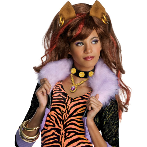 Monster Clawdeen Wolf Child Dress-Up Wig