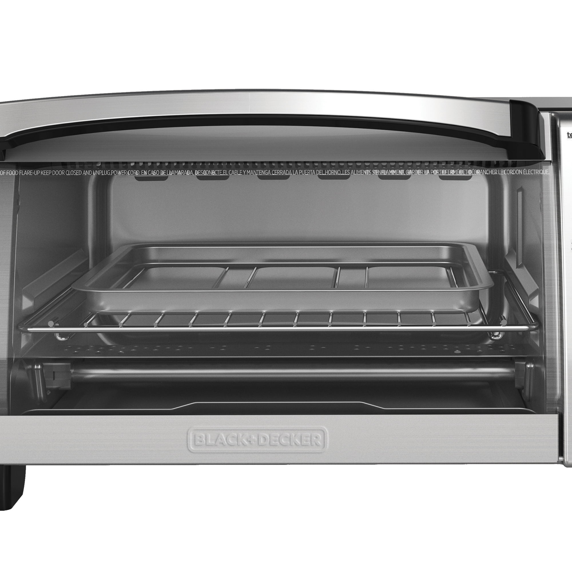 knob decker ovens down shipped oven amazon blackdecker gray only from black toaster