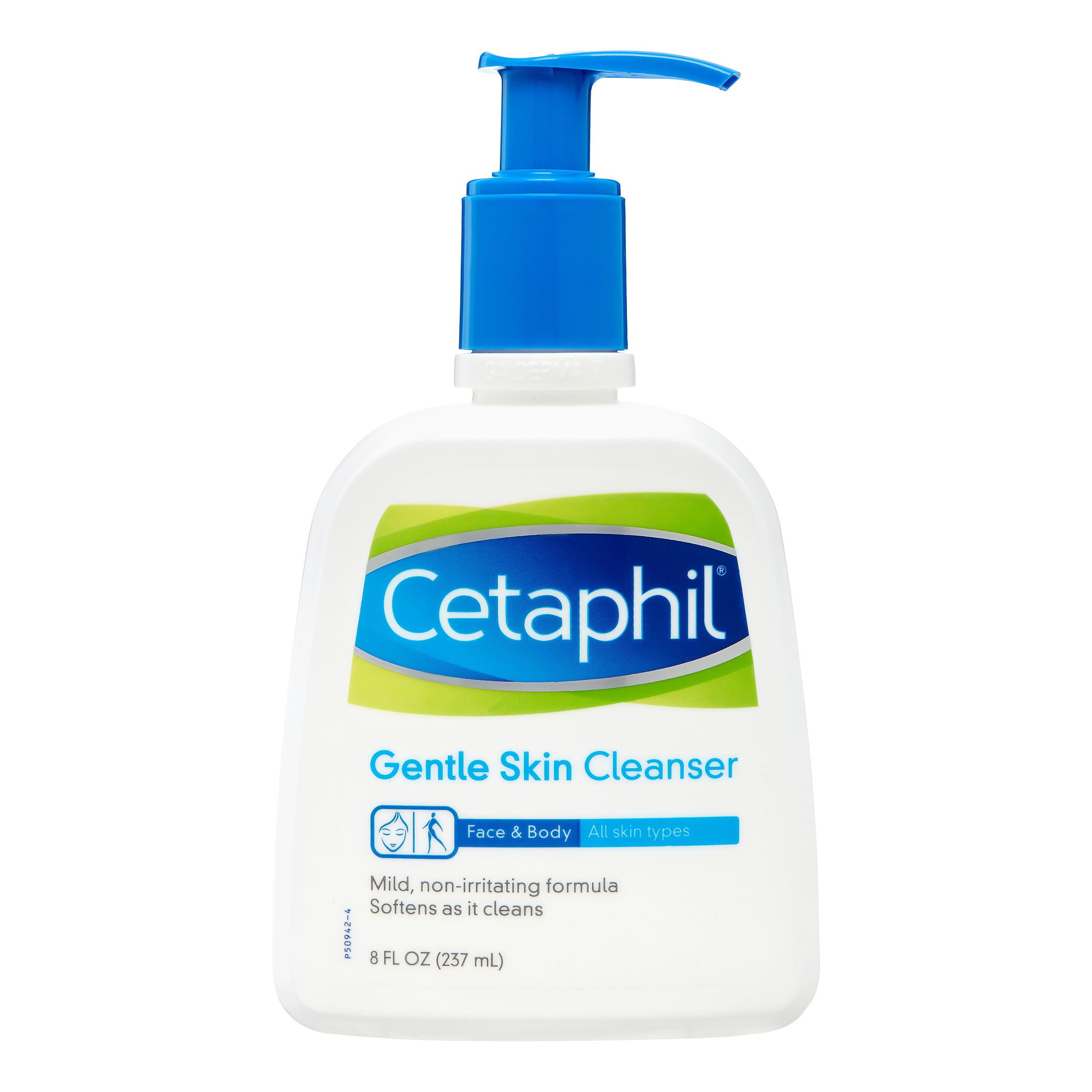 Cetaphil® Gentle Skin Cleanser for All Skin Types 8 fl. oz. Bottle