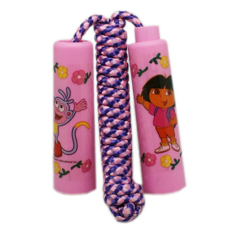 Dora Boots Pinata - Dora the Explorer Dora and Boots Floral Pink Handled Kids Jump Rope