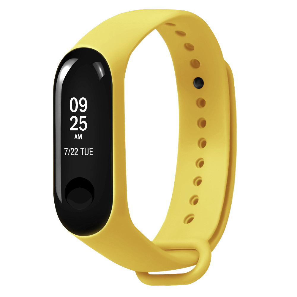 Sports Soft TPE Silicone Replacement Wristband Wrist Strap For Xiao Mi Band 3